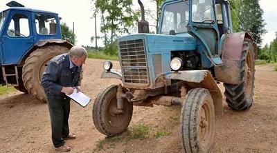 Как застраховать трактор ОСАГО онлайн