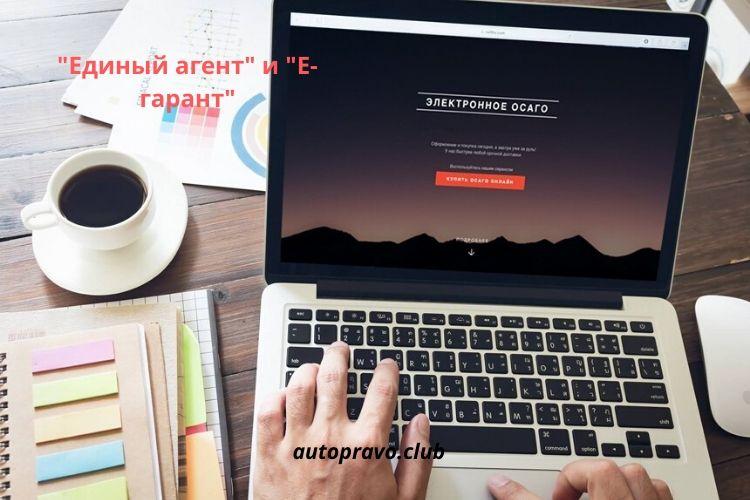 """""""Единый агент"""" и """"Е-гарант"""""""